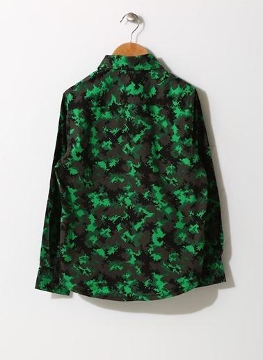 Funky Rocks Gömlek Yeşil